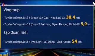 [Video] Vingroup, T&T xin tự bỏ kinh phí nghiên cứu làm đường sắt đô thị Hà Nội